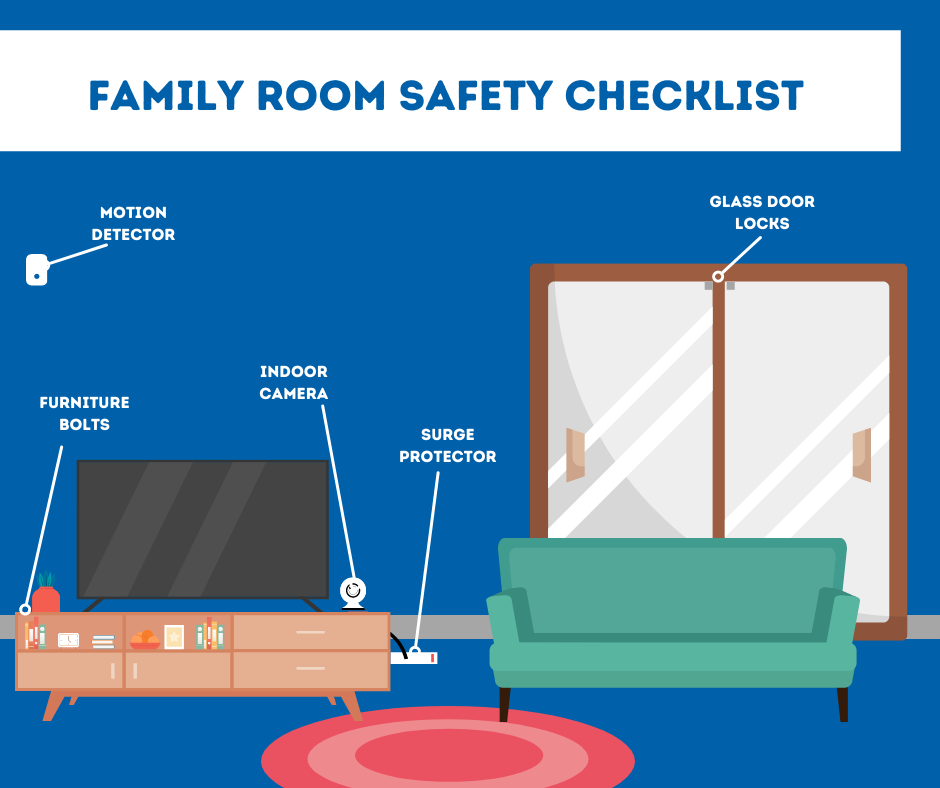 Family Room Safety Checklist
